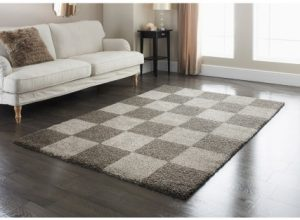 Chess Style Rug