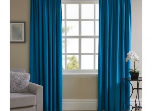 Thermal Blackout Curtain - Teal
