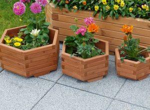 3 Piece Plant Pot Set