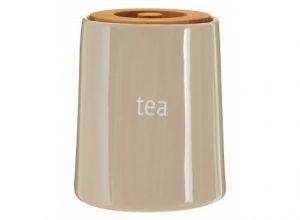 Beige Tea Conister